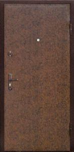 Входная дверь с винилискожей с двух сторон
