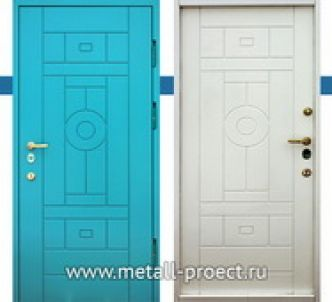 Входная дверь с МДФ