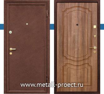 Дверь с порошковым напылением