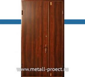Металлическая тамбурная дверь