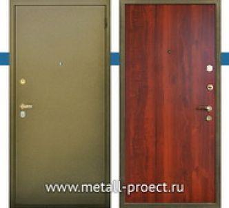 Металлическая входная дверь с шумоизоляцией от производителя.