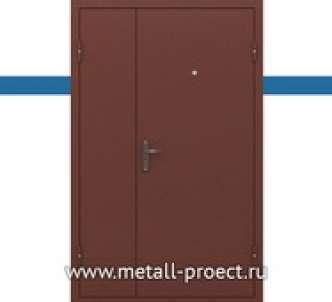 Тамбурная дверь с порошком