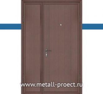 Тамбурная дверь с ламинатом