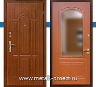 Входная дверь МДФ с зеркалом