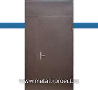 Тамбурная дверь с фрамугой