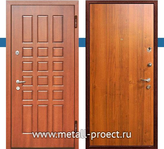 Входная дверь с ламинатом